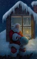 Santa by Ola55