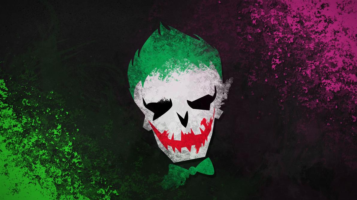 suicide squad - joker wallpaperklarkao on deviantart