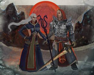 Orsinia and Maledith by Mar-ER