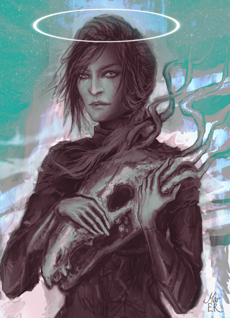 portrait by Mar-ER