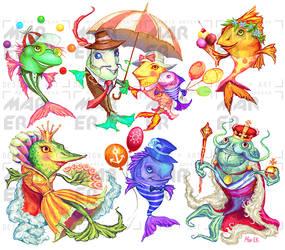 fish arts by Mar-ER