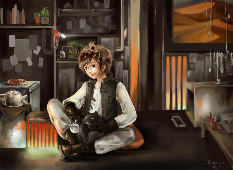 Steampunk boy by zhowee14 on DeviantArt