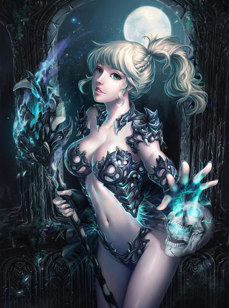 Witch by zhowee14