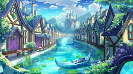 Cerulean Town