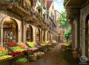 Marketplace by zhowee14
