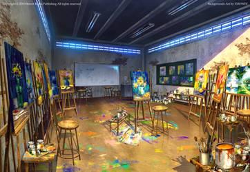 The art studio by zhowee14
