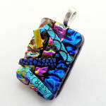 3D Abstract Fused Glass 2