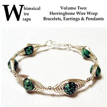 Herringbone Wire Wrap Tutorial by Create-A-Pendant
