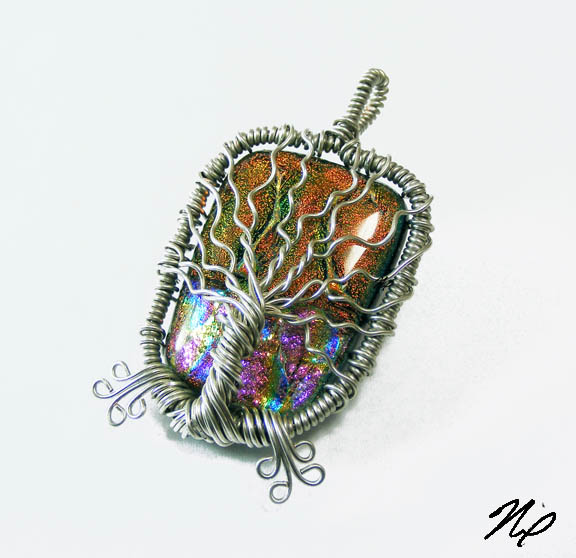 Wire Wrap Tree of Life Pendant by Create-A-Pendant on DeviantArt