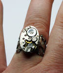 Steampunk Adjustable Ring 5