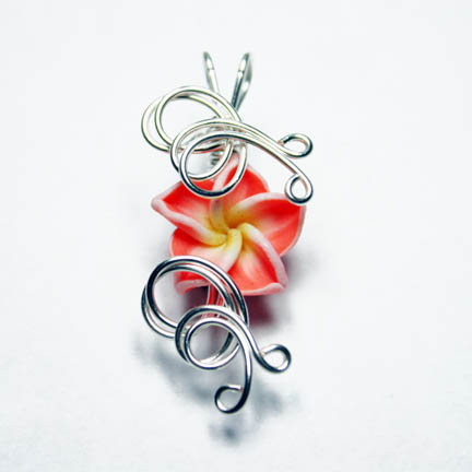 Perfume Flower Pendant 2 by Create-A-Pendant