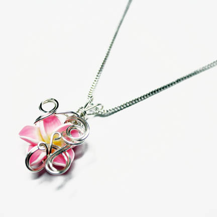 Wire Wrap Perfume Pendant 5 by Create-A-Pendant