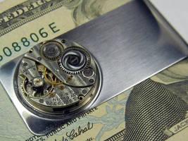 Steampunk Money Clip III