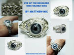 Eye of the Beholder Wire Ring