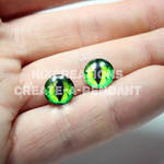 10mm Glass Eyes for Jewelry