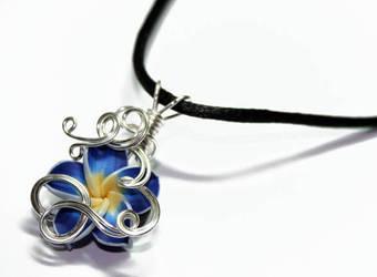 Tropical Flower PERFUME Pendant
