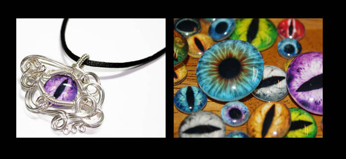 Handmade Taxidermy Eyes by Create-A-Pendant