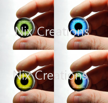 New Glass Eyes for Jewelry by Create-A-Pendant