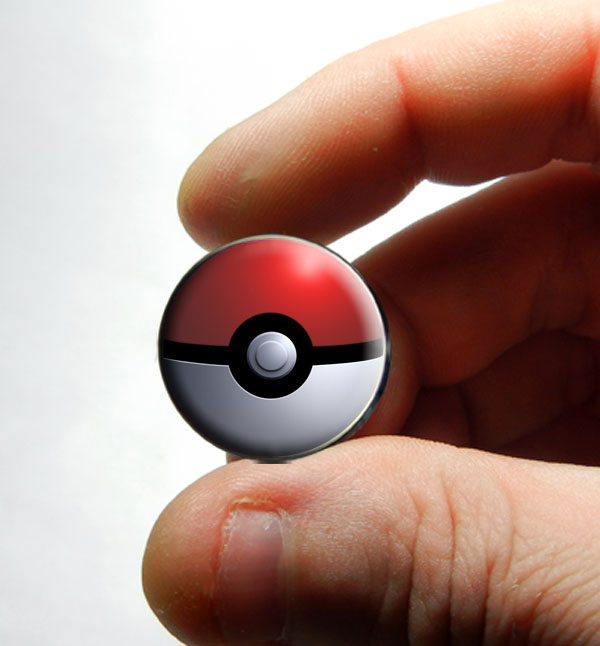 Pokemon Glass Cabochons for Jewelry by Create-A-Pendant