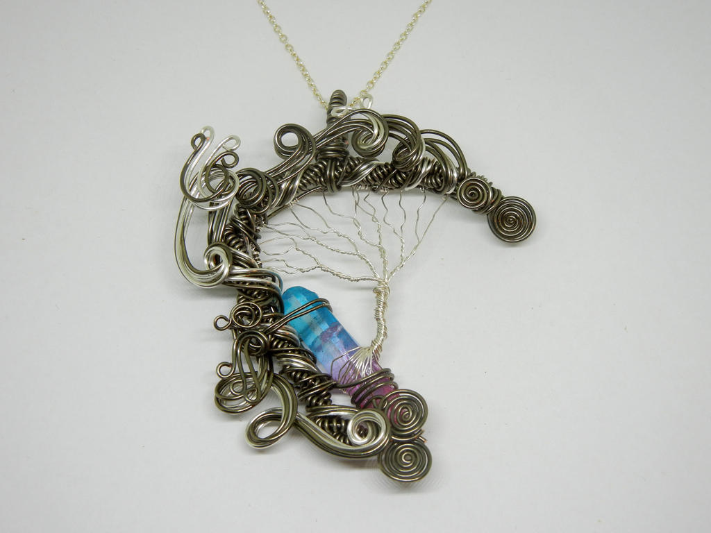 Wire Wrap Tree of Life Crystal Pendant by Create-A-Pendant on DeviantArt