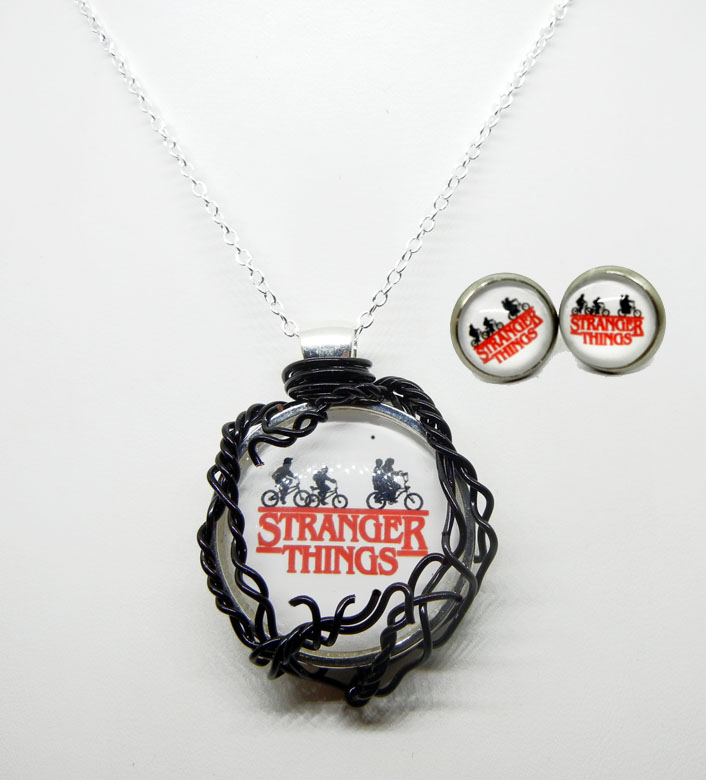 Stranger Things Wire Wrap Pendant by Create-A-Pendant on DeviantArt