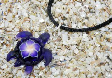 Resin Turtle Pendant