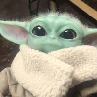 Baby Yoda Glass Eyes
