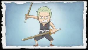 One Piece Film Z End Childhood - Roronoa Zoro