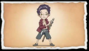 One Piece Film Z End Childhood - Dracule Mihawk