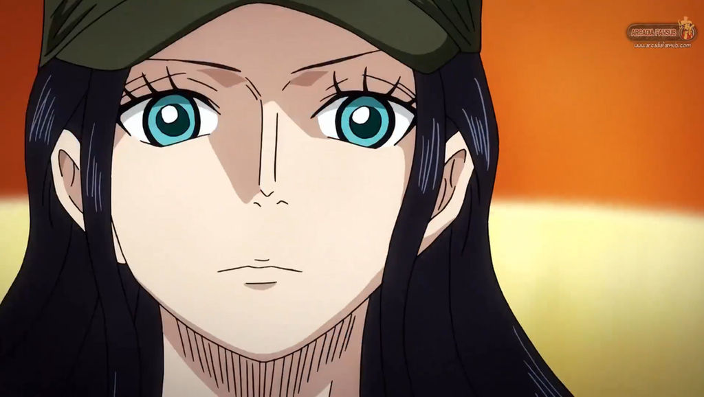 One Piece Film Heart Of Gold Nico Robin By Korkaranlik On