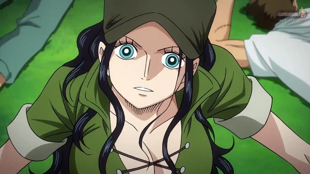 One Piece Film Heart Of Gold - Nico Robin by korkaranlik ...