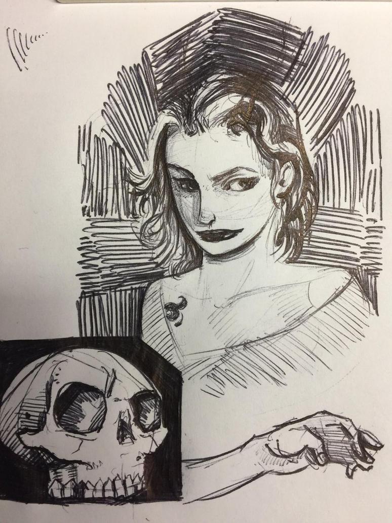 Ballpoint sketch by ehurley