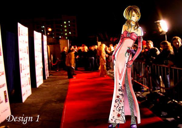 Fashion Illustration- Gown 1 by bunnify
