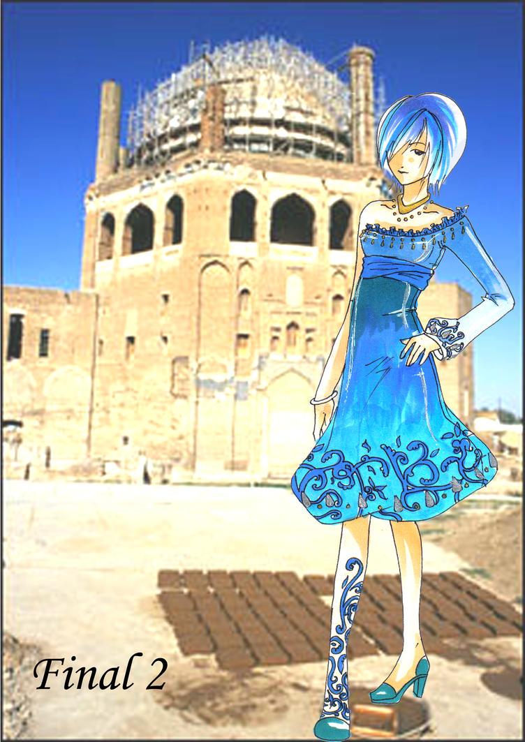 Fashion Illustration- Persia 2 by bunnify