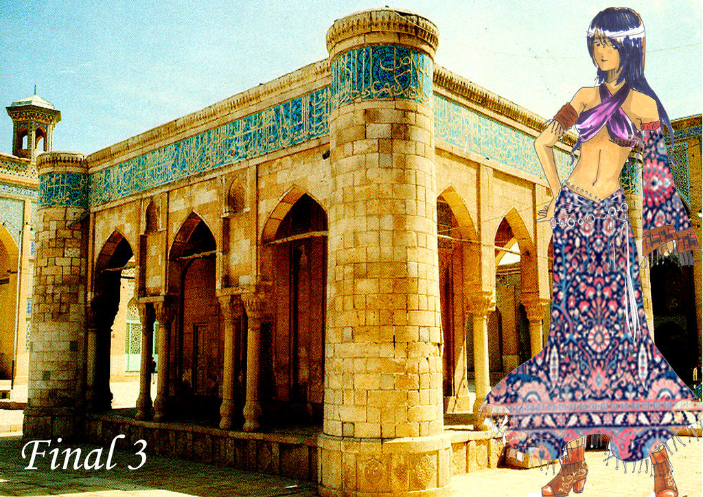 Fashion Illustration- Persia 3 by bunnify