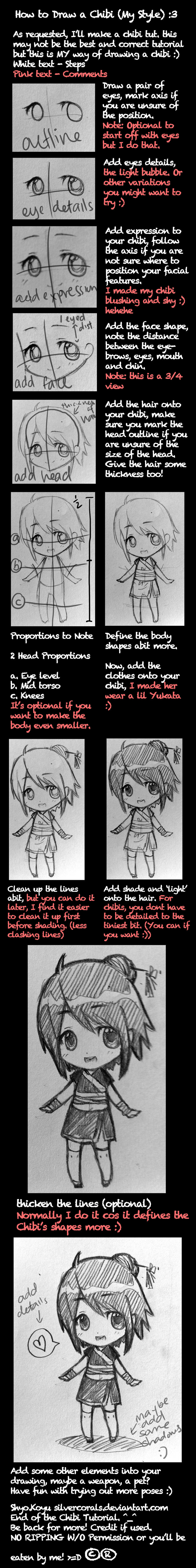 How to Draw A Chibi Tutorial by bunnify