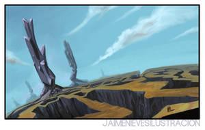 Landscape Concept by JaimeNieves