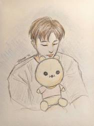 Wonho + Bebegom