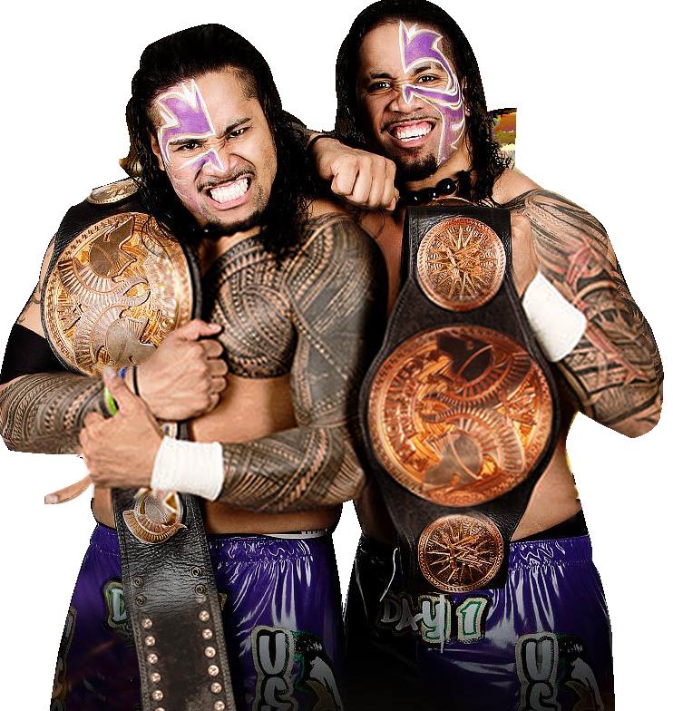 The Usos ( Tag Team Champ ) Render by WWEPNGUPLOADER on DeviantArt