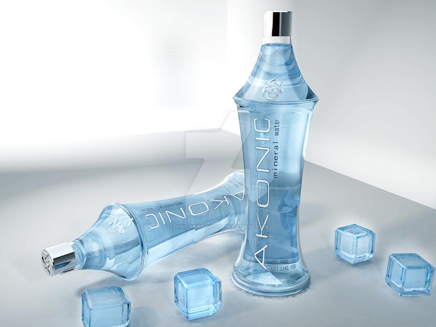 Mineral Water Bottle Logo Mineral Water Bottle by