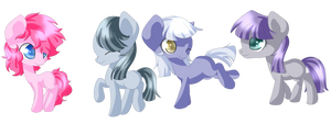 Four Little Pies! by Rue-Willings