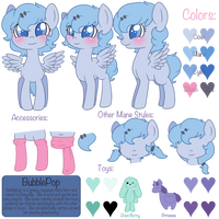 Reference Sheet for BubblePop by Rue-Willings