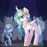 BubblePop Meets Princess Celestia