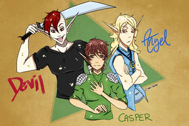 The Elf Tripplets: Draw-Again-Meme