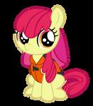 Applebloom Vector (Pinkie Apple Pie)