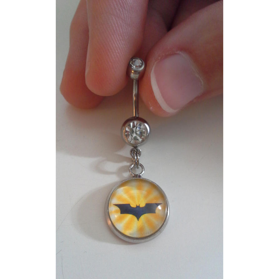 Bat Belly Button Ring