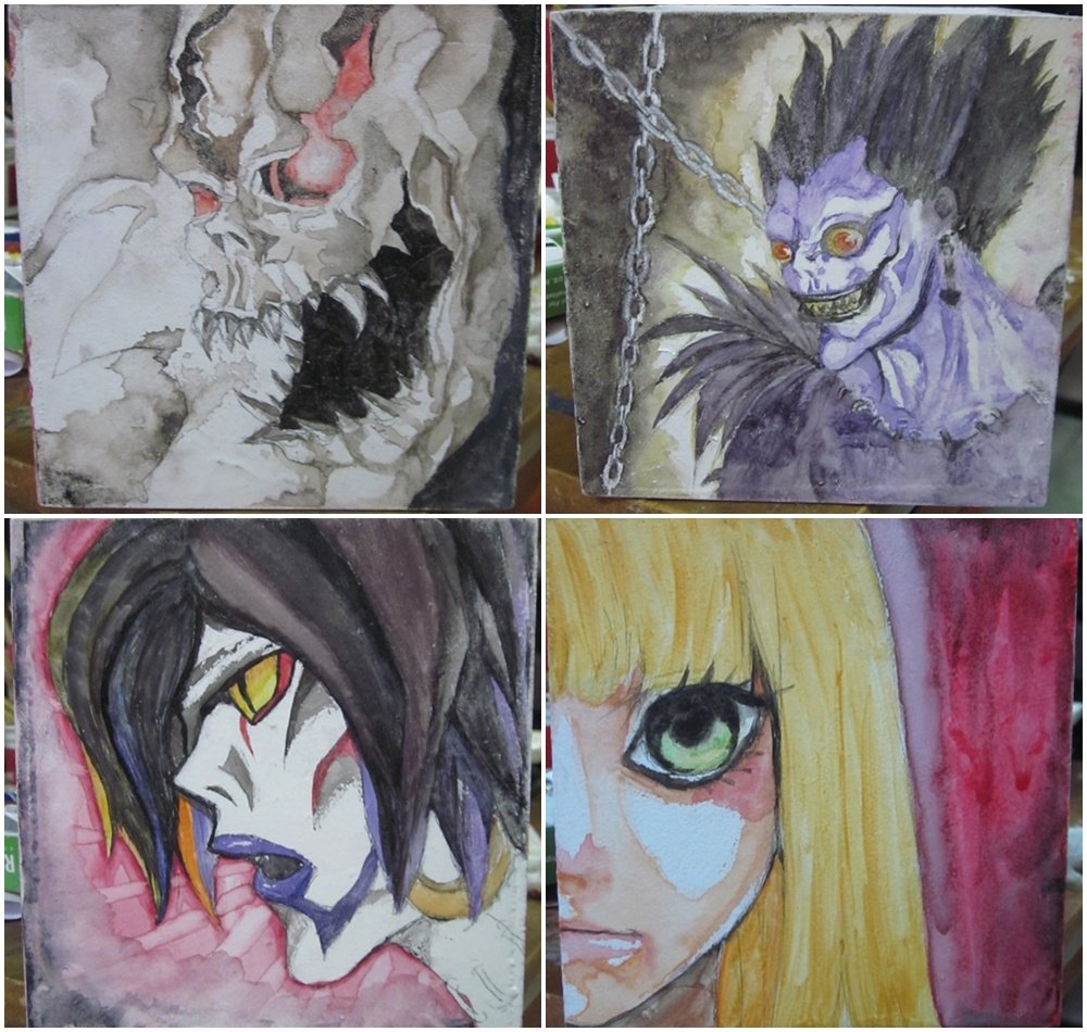 Box Painting : Death Note By ROMEOTIC64 On DeviantArt