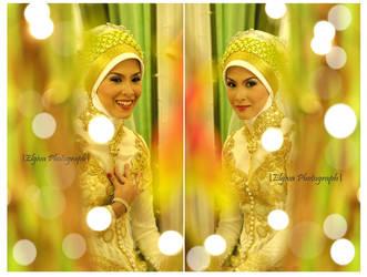 raisa rizky Wedding 2 by elgiva