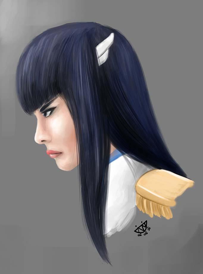Satsuki Kiryuin by evanlai