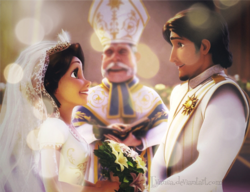raiponce mariage